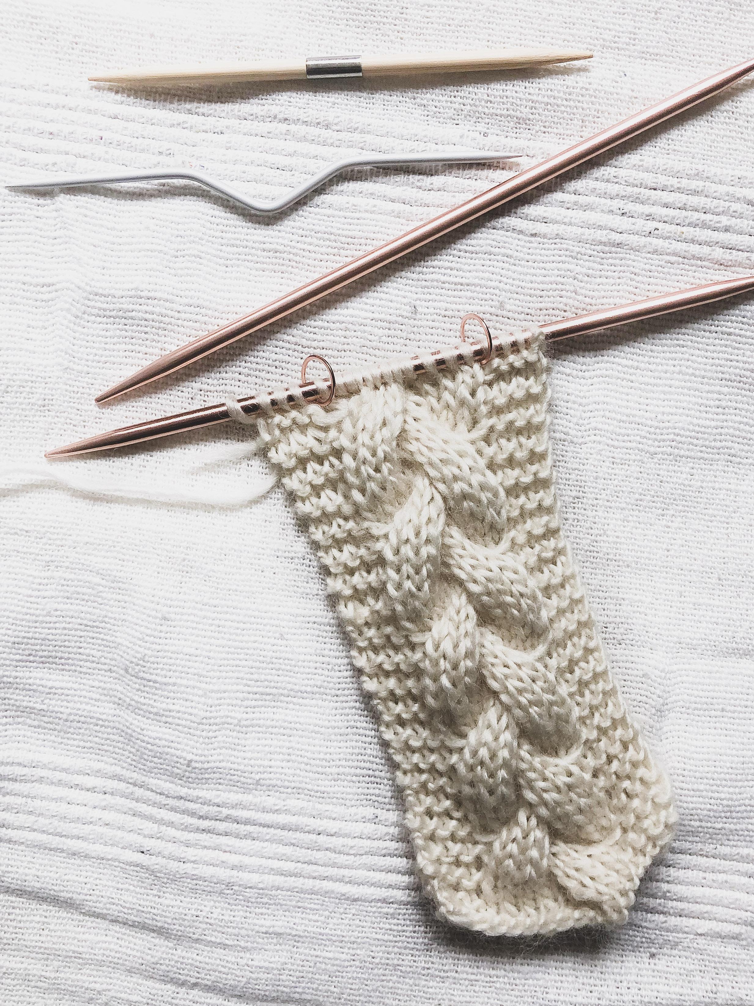 tricoter des torsades facile et rapide